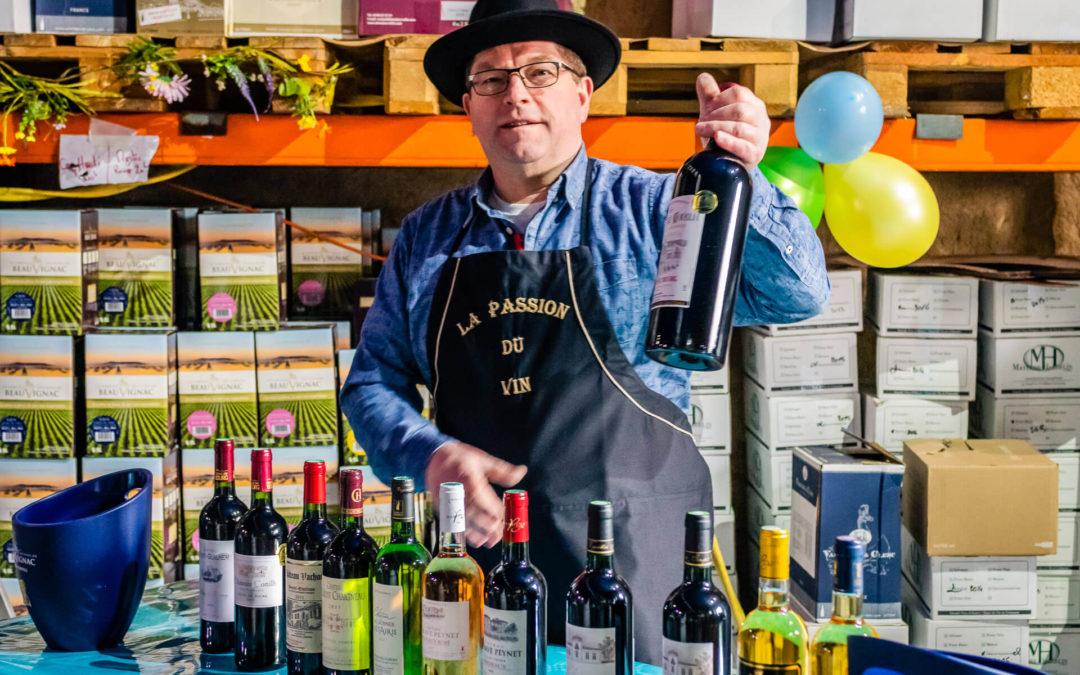 Chez votre caviste à proximité de Neufchâteau, découvrez des vins enchanteurs!